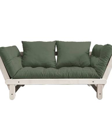 Variabilné pohovka Karup Design Beat Natural Clear/Olive Green