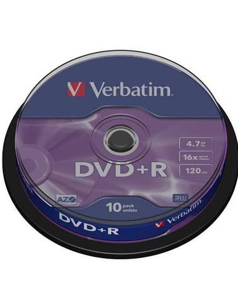 Verbatim Disk Verbatim DVD+R 4,7GB, 16x, 10cake