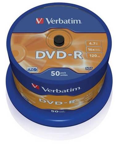 Disk Verbatim DVD-R 4,7GB, 16x, 50cake