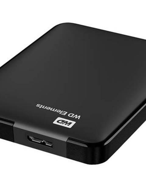 Western Digital Externý pevný disk Western Digital Elements Portable 1TB čierny