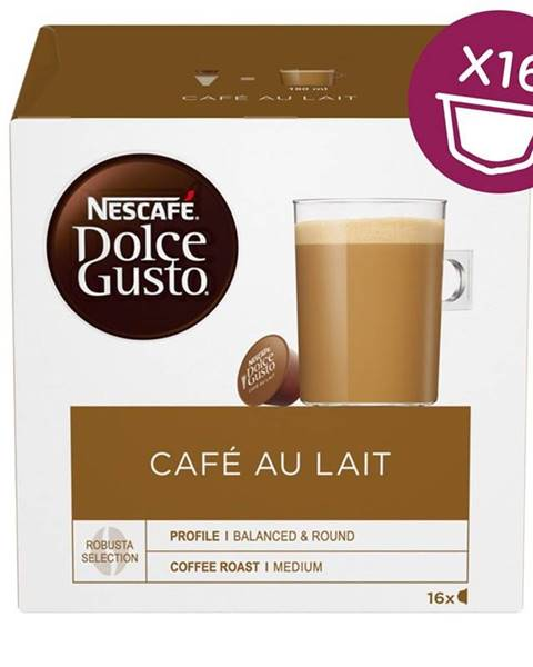 Nescafé NescafÉ Dolce Gusto® Café au Lait kávové kapsule 16 ks
