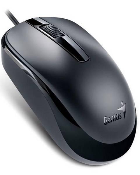 Genius Myš  Genius DX-120 čierna / optická / 3 tlačítka / 1200dpi