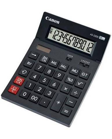 Kalkulačka Canon AS-2200 sivá