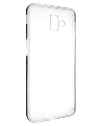 Kryt na mobil Fixed Skin na Samsung J6+ priehľadný