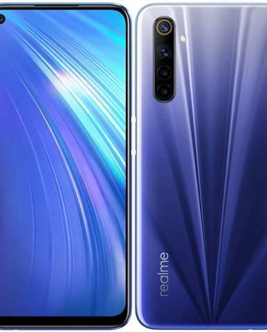 Mobilný telefón realme 6 128 GB modrý