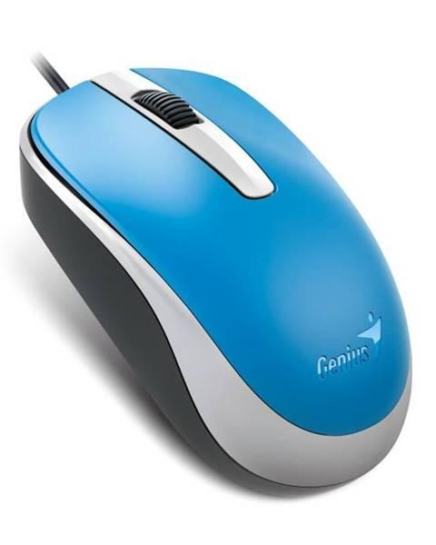 Genius Myš  Genius DX-120 modrá / optická / 3 tlačítka / 1200dpi
