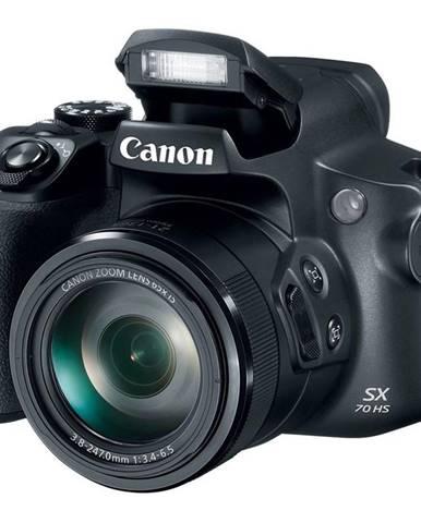 Digitálny fotoaparát Canon PowerShot SX70 HS čierny