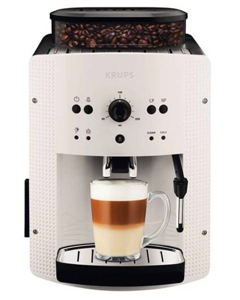 Krups Espresso Krups Essential Picto EA8105 čierne/biele