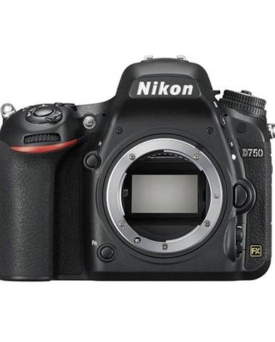 Digitálny fotoaparát Nikon D750 telo čierny