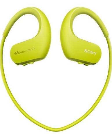 MP3 prehrávač Sony NW-WS413G zelen