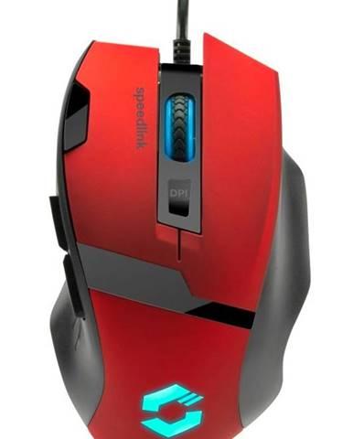 Myš  Speed Link Vades červená