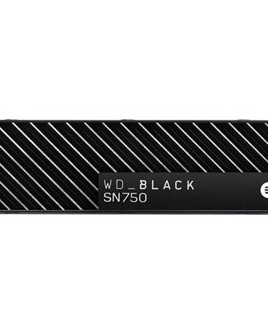 SSD Western Digital Black SN750 NVMe M.2 500GB s chladičem
