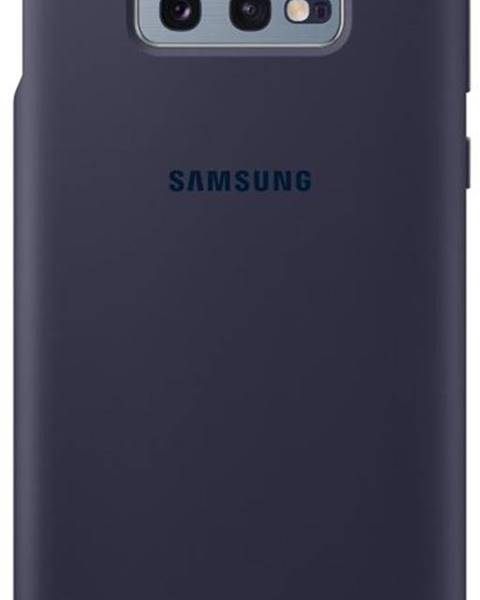 Samsung Kryt na mobil Samsung Silicon Cover na Galaxy S10e - navy