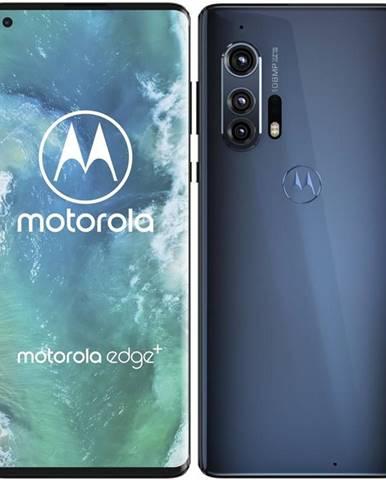 Mobilný telefón Motorola Edge Plus 5G sivý/modrý