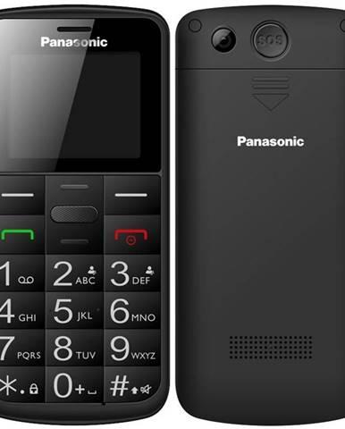 Mobilný telefón Panasonic KX-Tu110exb Dual SIM čierny