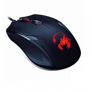 Myš  Genius GX Gaming Ammox X-1 400 čierna / optická / 4 tlačítka /