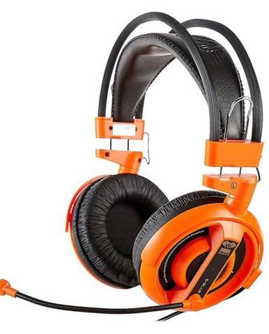 Headset  E-Blue Cobra I oranžový