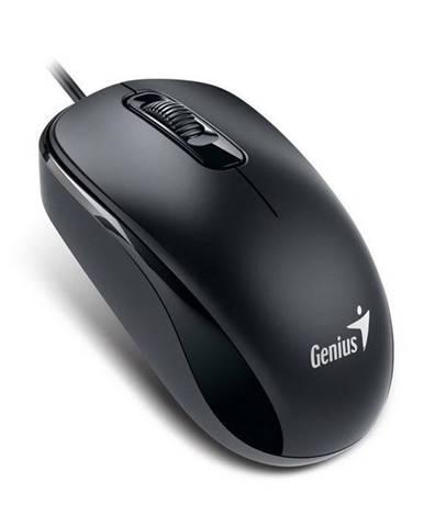 Myš  Genius DX-110, PS2 konektor čierna / optická / 3 tlačítka /