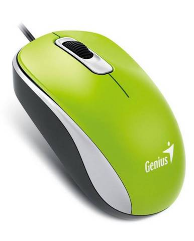 Myš  Genius DX-110 zelená / optická / 3 tlačítka / 1000dpi