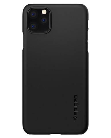 Kryt na mobil Spigen Thin Fit na Apple iPhone 11 Pro čierny