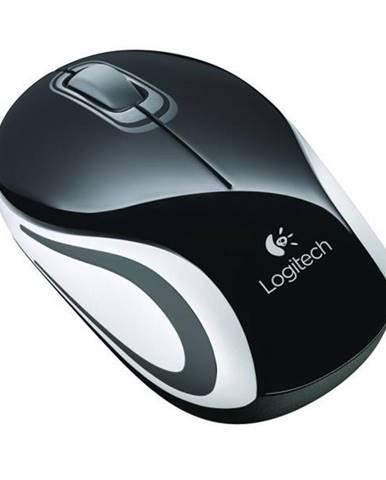 Myš  Logitech Wireless Mini MoM187 čierna / optická / 2