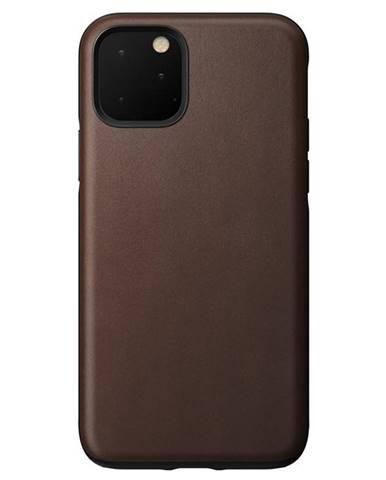 Kryt na mobil Nomad na Apple iPhone 11 Pro hnedý