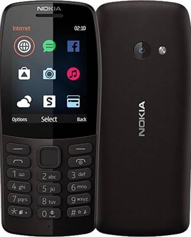 Mobilný telefón Nokia 210 Dual SIM čierny