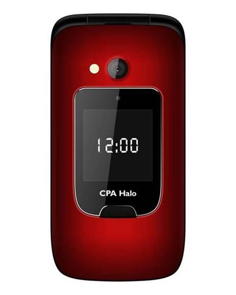 CPA Halo Mobilný telefón CPA Halo 15 Senior červený