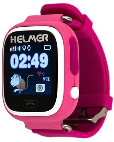 Inteligentné hodinky Helmer LK 703 dětské ružové