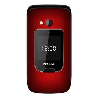 Mobilný telefón CPA Halo 15 Senior červený