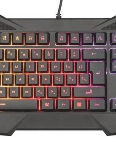 Klávesnica Trust GXT Gaming 830-RW Avonn CZ/SK čierna