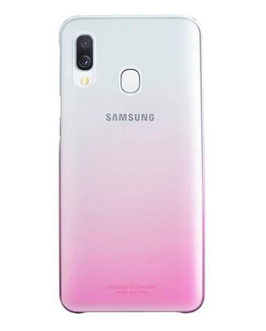 Kryt na mobil Samsung Gradation Cover na Galaxy A40 ružový