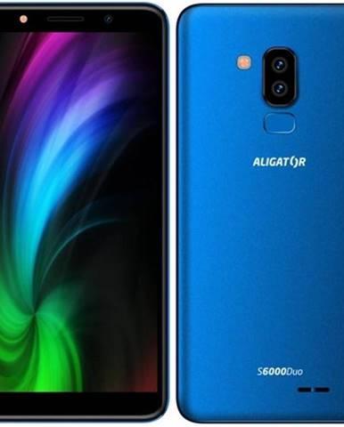 Mobilný telefón Aligator S6000 Dual SIM modrý