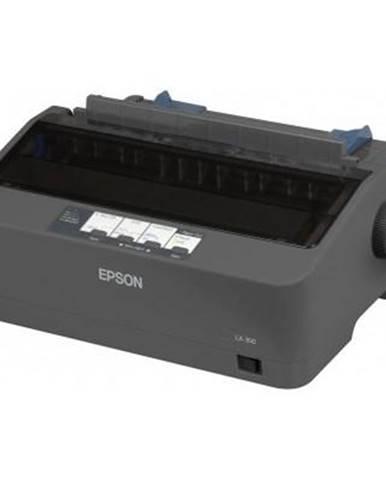 Tlačiareň ihličková Epson LX-350 čierna 347 zn/s, LPT, USB
