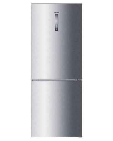 Kombinácia chladničky s mrazničkou Haier C3fe844cgj Titanium