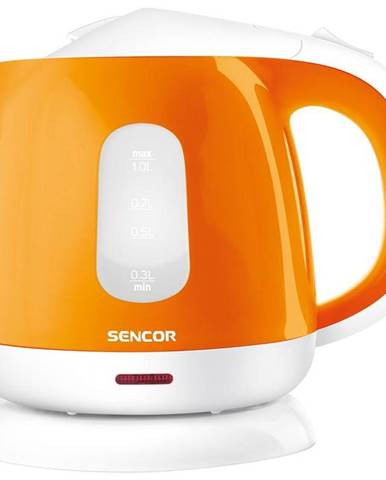 Rýchlovarná kanvica Sencor SWK 1013OR oranžov