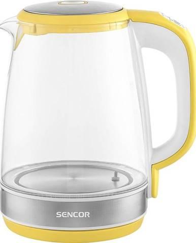 Rýchlovarná kanvica Sencor SWK 2196YL žlt