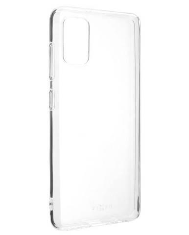 Kryt na mobil Fixed Skin na Samsung Galaxy A41 priehľadný