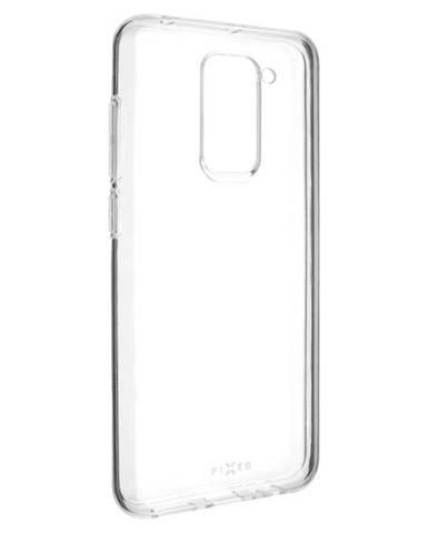 Kryt na mobil Fixed Skin na Xiaomi Redmi Note 9 priehľadný