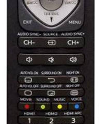 Diaľkový ovládač Philips SRP5016/10 čierny