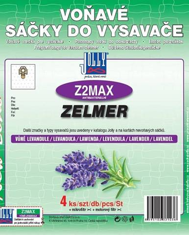 Sáčky pre vysávače Jolly MAX Z 2 lavender perfume