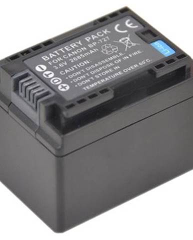Batéria Avacom Canon BP727, Li-Ion 3.6V 2400mAh 8.6Wh