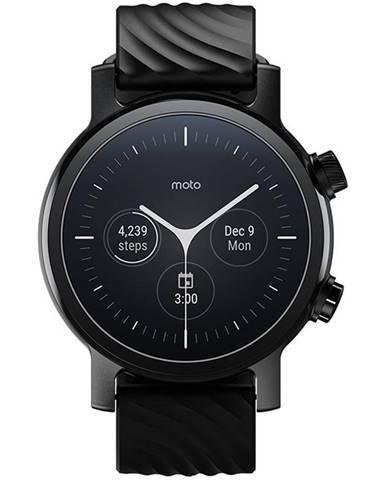 Inteligentné hodinky Motorola Moto 360 3. generace čierna