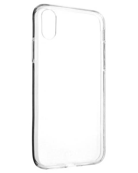 FIXED Kryt na mobil Fixed Skin na Apple iPhone X/Xs priehľadný