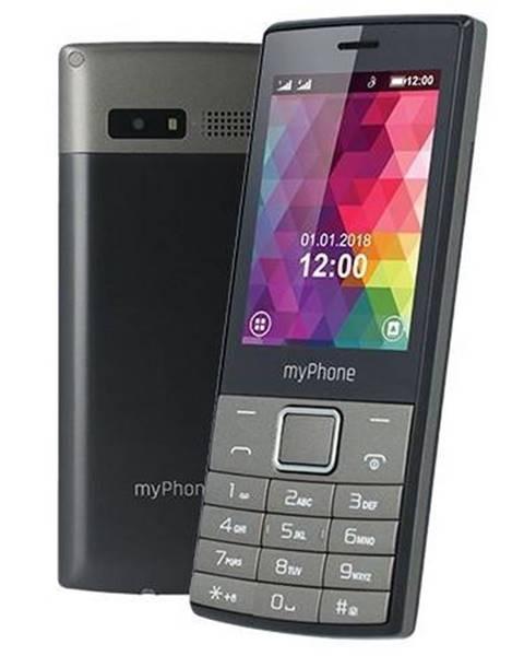 myPhone Mobilný telefón myPhone 7300 Dual SIM čierny/strieborný