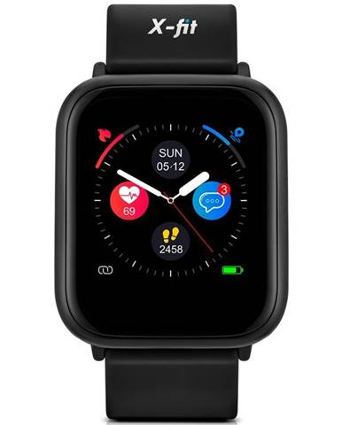 Inteligentné hodinky Niceboy X-fit Watch čierna