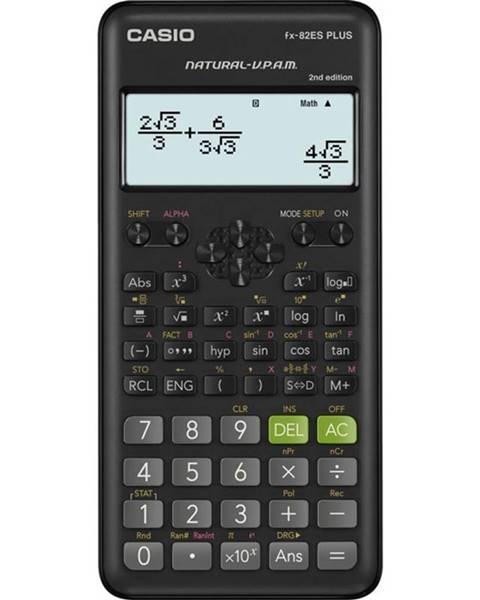 Casio Kalkulačka Casio FX 82ES Plus 2E čierna