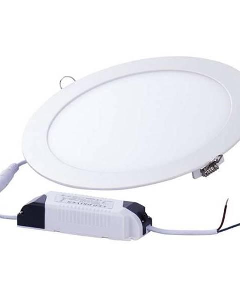 EMOS LED panel Emos kruh, 220 x 21 mm, 18W, 1080 lm biely
