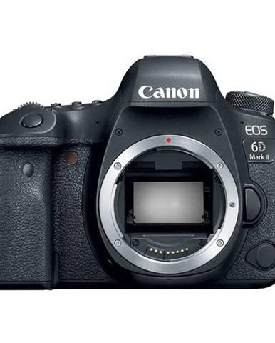 Digitálny fotoaparát Canon EOS 6D Mark II telo čierny