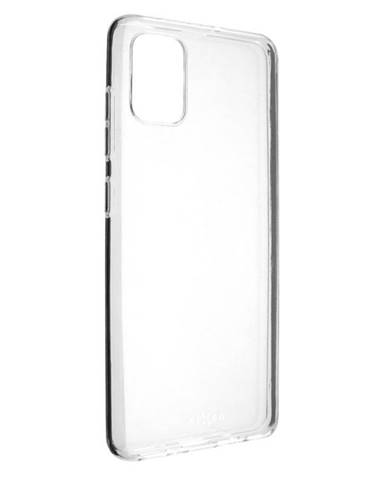 Kryt na mobil Fixed Skin na Samsung Galaxy A51 priehľadný